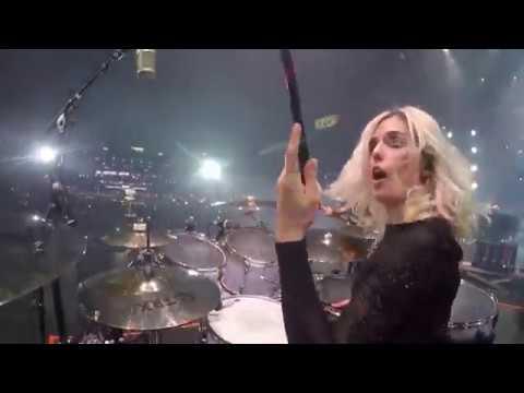 Shania Twain That Don't Impress Me Much - Elijah Wood Drum Cam - Barretos, Brazil 2018