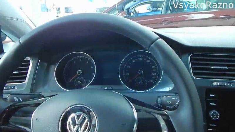 Volkswagen Golf Variant 1.4 125 л.с. 6МТ экстерьер , интерьер немецкий универсал С класса