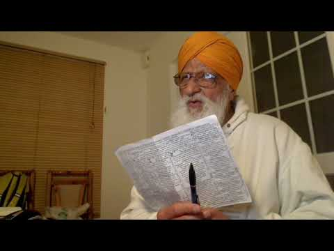 Punjabi - Christ Amar Dev Ji, Destroyer of doubts stresses that Gurmukh sealed to serve God meet