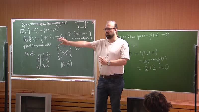 Уравнения и симметрии [4] Антон Джамай ЛШСМ