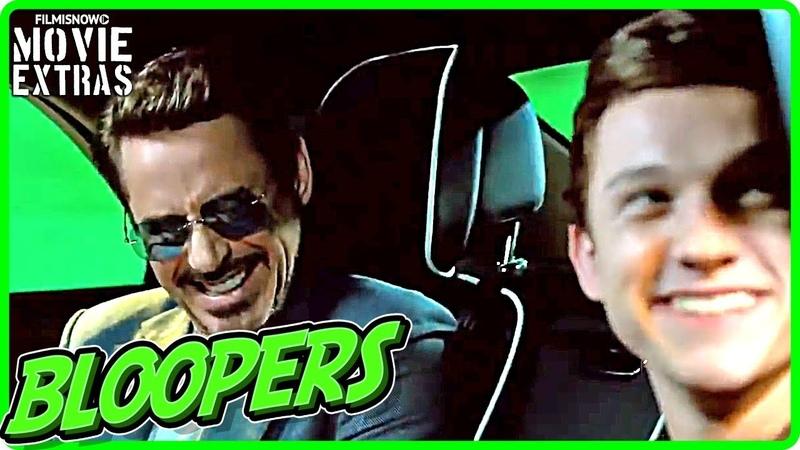 SPIDER-MAN HOMECOMING Bloopers Gag Reel [DigitalBlu-RayDVD 2017]