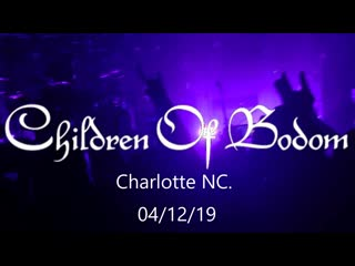 Children of Bodom - Live at The Underground, Charlotte, USA (12.04.2019)