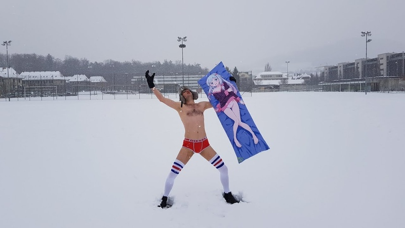 Switzerlands' Living Traditions: Filling my underpants with snow / スイスの古き良き伝統その二: パンツの雪詰め