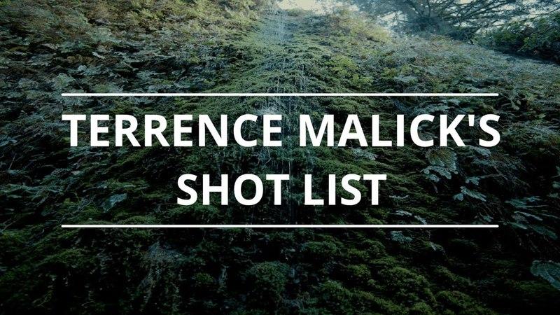 How to Create a Shot List Like Terrence Malick