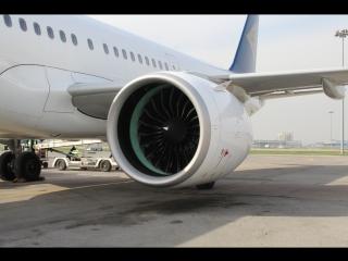 ALA. Airbus A321neo Air Astana. Landing.