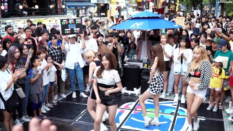 18.08.18 NEONPUNCH — LOVE SCENARIO (iKON Dance Cover) @ Hongdae Busking