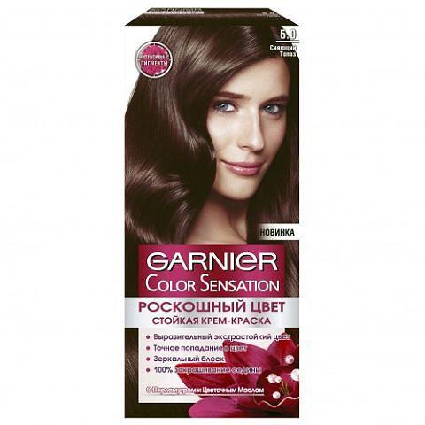 Каштановый цвет краска для волос