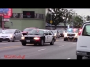 7x LAPD Slicktops Unmarked Units Responding Code 3 in Hollywood