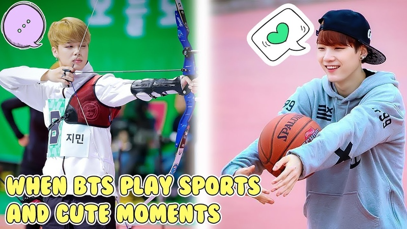 BTS (방탄소년단防弾少年団) With Sports - Cute Funny Moments