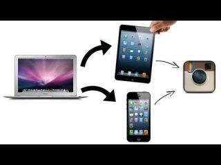 Как загрузить видео с PC в фотопленку iPhone/iPad