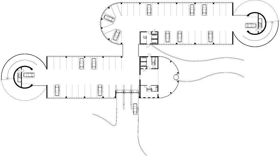 Парковка Гараж 'de Cope' / JHK Architects
