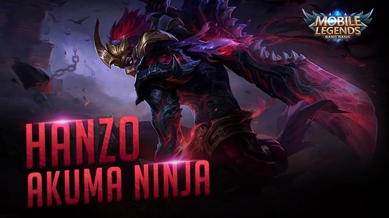 New Hero Hanzo - Akuma Ninja   Mobile Legends Trailer 【 FAN MADE 】