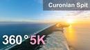 360° видео AirPano: Куршская коса. Песчаные пляжи и дюны. Россия-Литва.