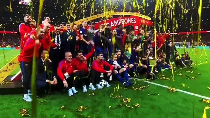 Last final of the Iniesta in Barcelona
