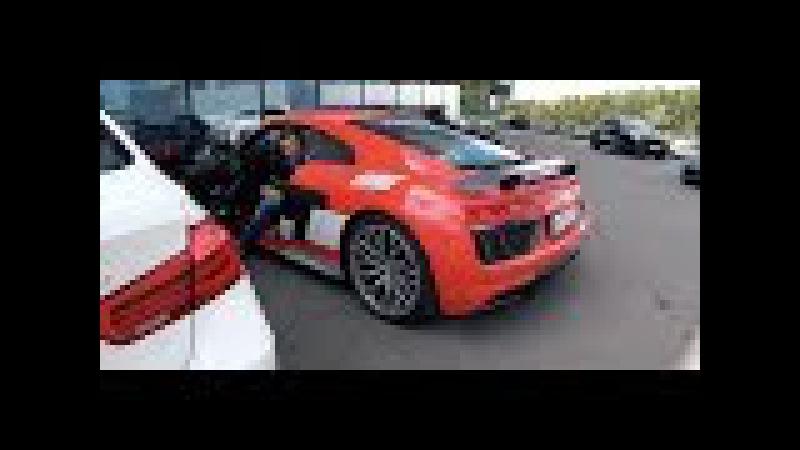 Заценил Audi R8 Plus Антона Воротникова за 12 900 000 рублей. п.с. моя бешка получше_))