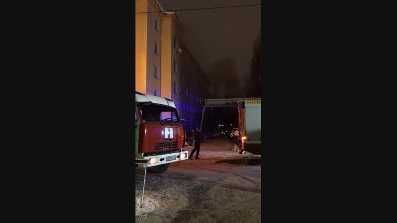Пожар около нижегородского дворца спорта - Типичный Нижний Новгород