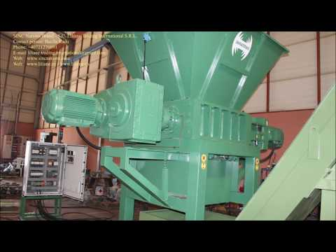 DSSH-LTI-30 Iron Chips Shredder - Tocator span - Sinc Makina Liliane Trading International