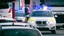 2x Suffolk Police BMW X5 Armed Response and Ford Focus responding through heavy traffic