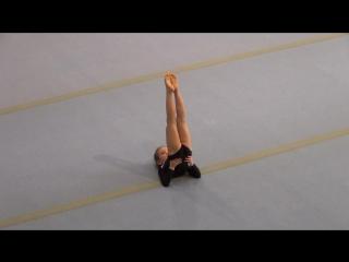 26)Спортивная гимнастика Зимние забавы - Закирзянова Ясмина 17.12.2017 (Нижнекамск)