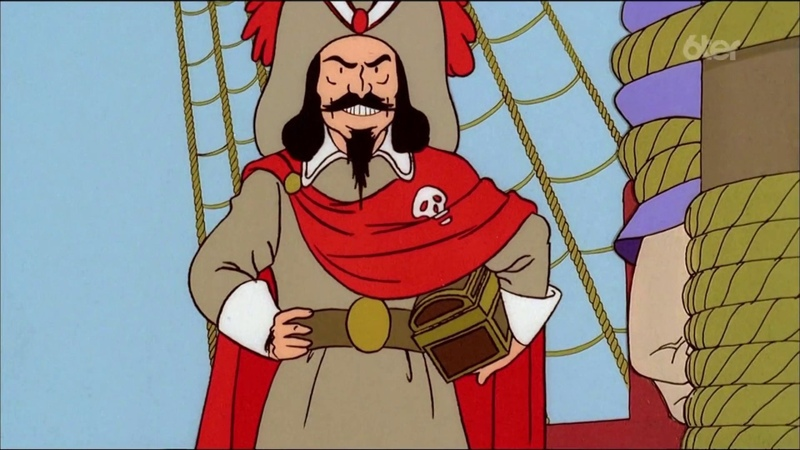 Les aventures de Tintin - Le secret de la licorne Le Trésor de Rackham le Rouge