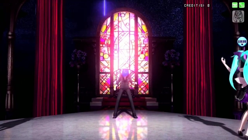 [60fps Full風] ACUTE - 初音ミク 巡音ルカ KAITO Miku Luka Project DIVA Arcade English lyrics Romaji subtitles