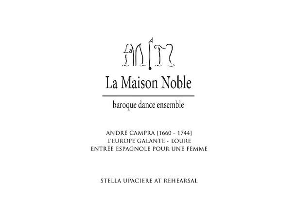 La Maison Noble - Entrée espagnole pour une femme