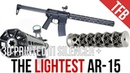 The Worlds Lightest AR-15 The ENYO Titanium 3D-Printed Silencer