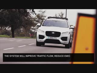 Jaguar Land Rover Vehicle-to-Infrastructure technology