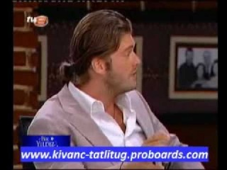 "Kivanc Tatlitug with Selcuk Yontem in "" Bir Yildiz Masali "" Program"