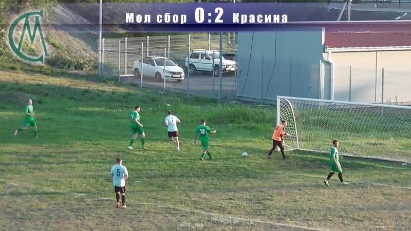 Футбол Молодёжная сборная 24 Красина - Голы. Чемпионат г.Шахты 2018г.