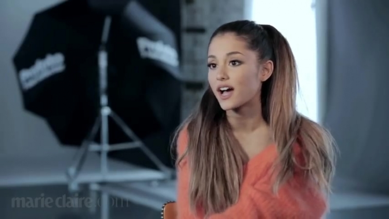 Ariana Grande - Marie Claires Cover Shoot (Behind the Scenes)