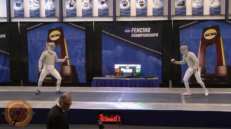 Penn State NCAA MS 2018 - GOLD - Elsissy WAYNE v Dershwitz HARV