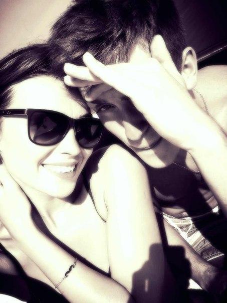Виктория Макаревич и Ян Долидович до проекта: фото