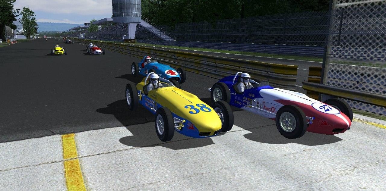 IRE сезон 1 - 1й этап Монца(овал): Итоги гонки + видеообзор