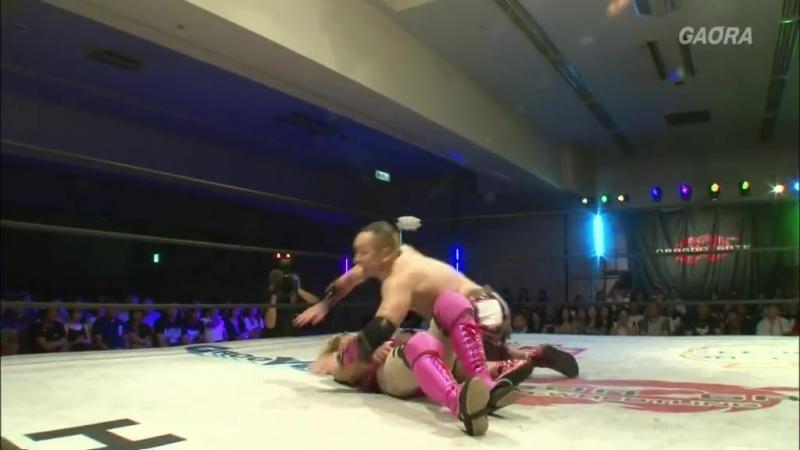 Gamma Punch Tominaga vs KAGETORA Yosuke Santa Maria Dragon Gate The Gate of Adventure 2018 Day 9