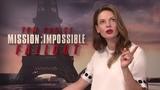 Mission Impossible - Fallout Interview Rebecca Ferguson