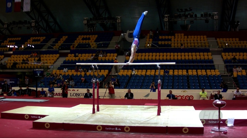 LANKIN Dmitrii (RUS) - 2018 Artistic Worlds, Doha (QAT) - Qualifications Parallel Bars