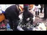 27 01 14 Киев евромайдан Горящие Люди!