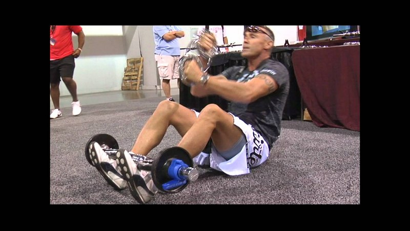 The Burn Machine At The 2011 Olympia Expo