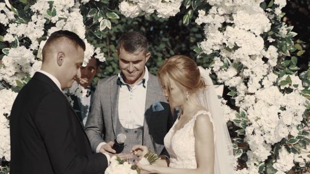 Стильная свадьба Константина и Кристины
