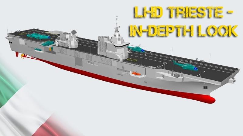 LHD Trieste In depth look