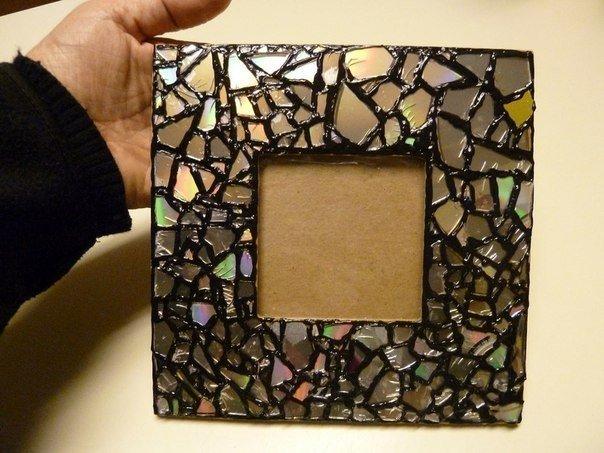 Изделия из битого зеркала