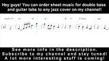 Herb Ellis - It Could Happen To You (1956) - double bass sheet music review