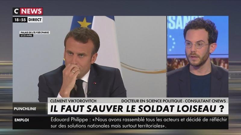 Viktorovitch accuse Macron de tenir des propos racistes,méprisants mensongers (CNEWS,06/05/19,19h)