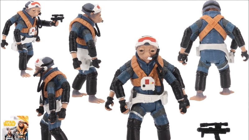 STAR WARS SOLO NEW Pics and Toys!