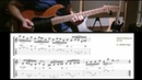 Guitar Lick of the day Hybrid picking with open strings * Slow Fast demo TAB* by Asa