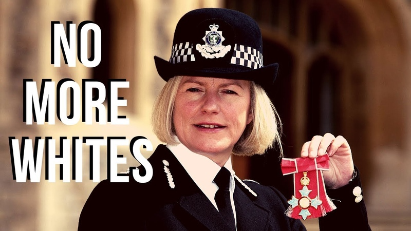 The Anti-White British Police | Positive Discrimination For Diversity | Sara Thornton