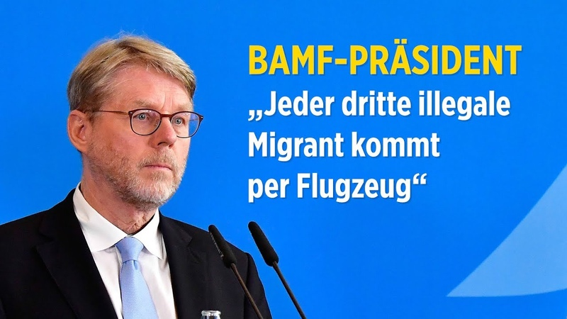 BAMF-Chef Sommer: Jeder dritte illegale Migrant kommt per Flugzeug