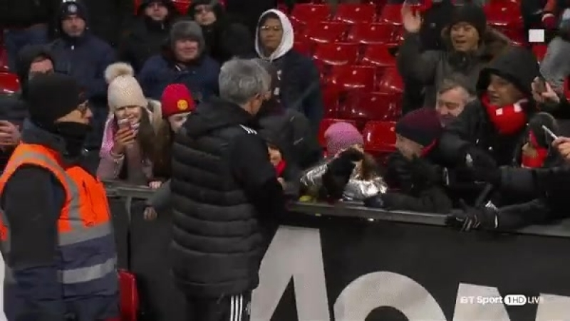 Jose gives a present