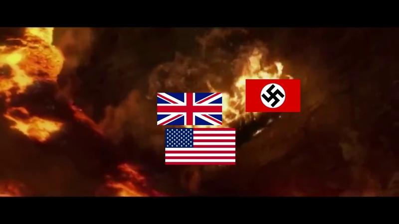 Obi-Wan vs Anakin, but it´s a WW2 meme